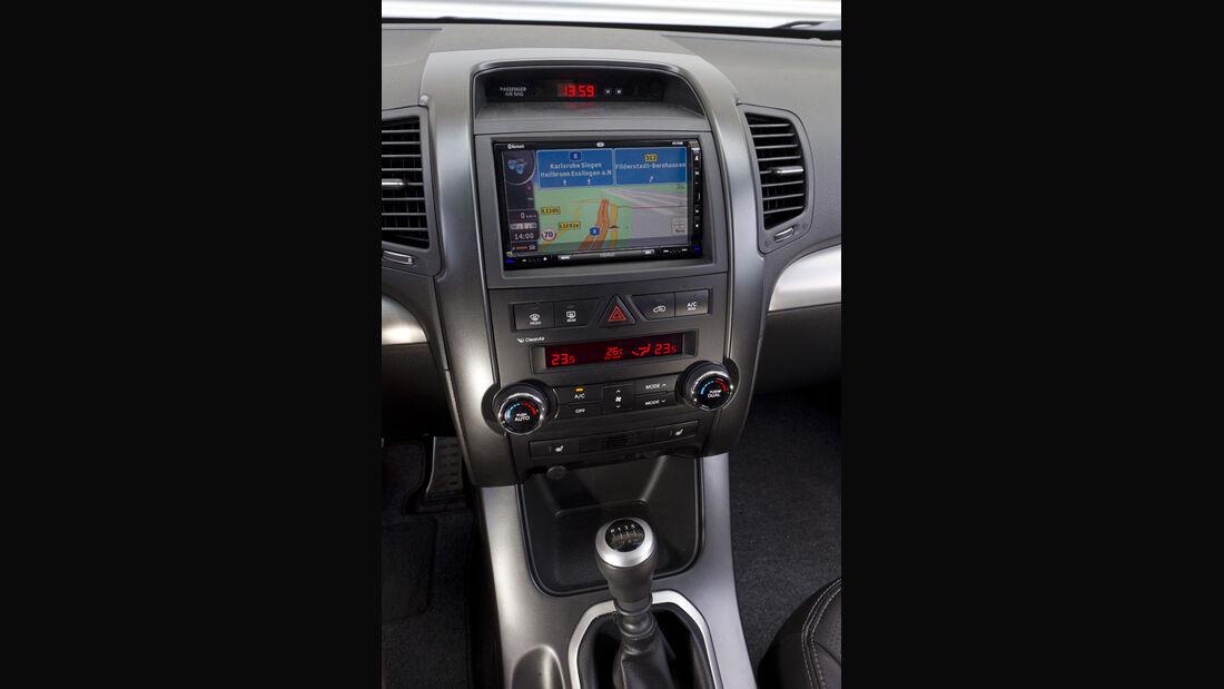 Kia Sorento, Mittelkonsole, Navigationssystem