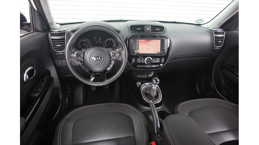Kia Soul 1.6 GDI, Cockpit