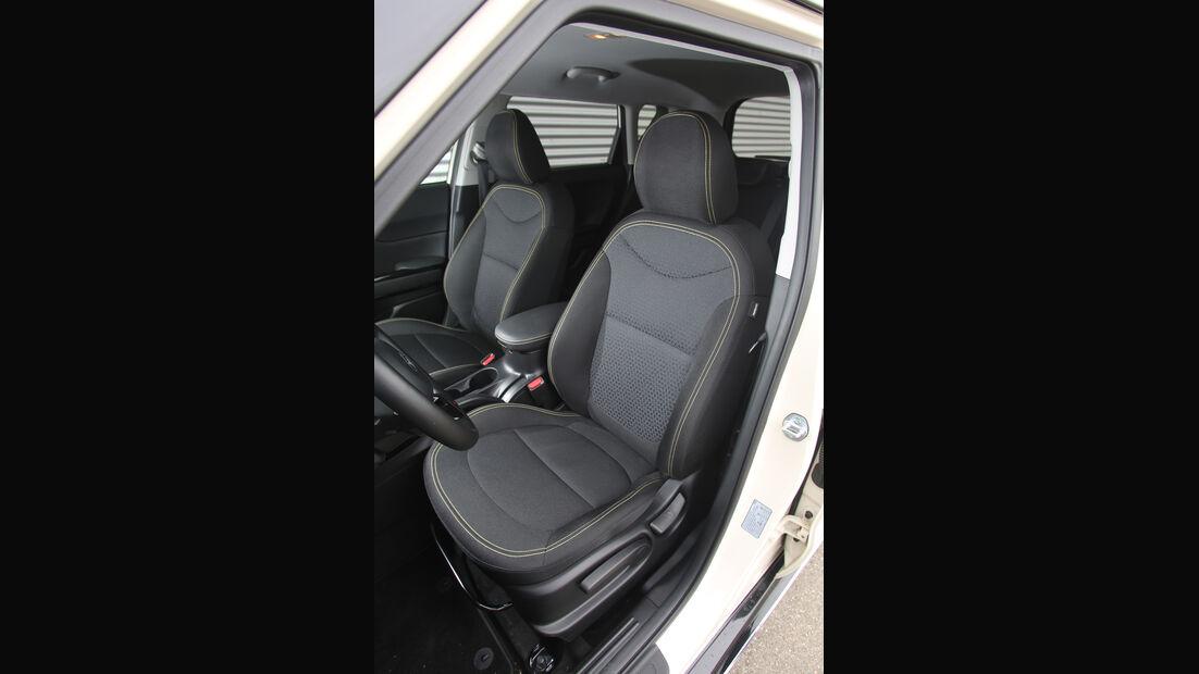 Kia Soul 1.6 GDI, Fahrersitz