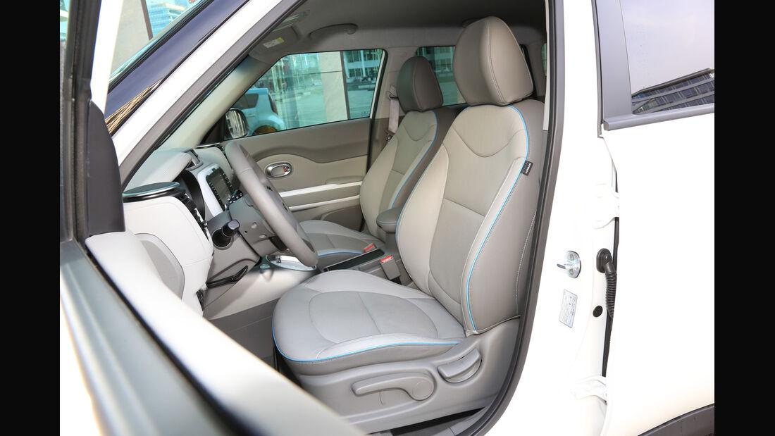 Kia Soul EV, Fahrersitz