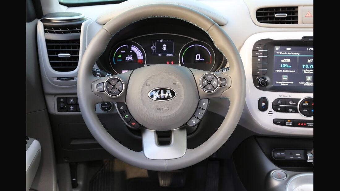 Kia Soul EV, Lenkrad