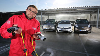 Kia Soul EV, Nissan Leaf, VW e-Golf