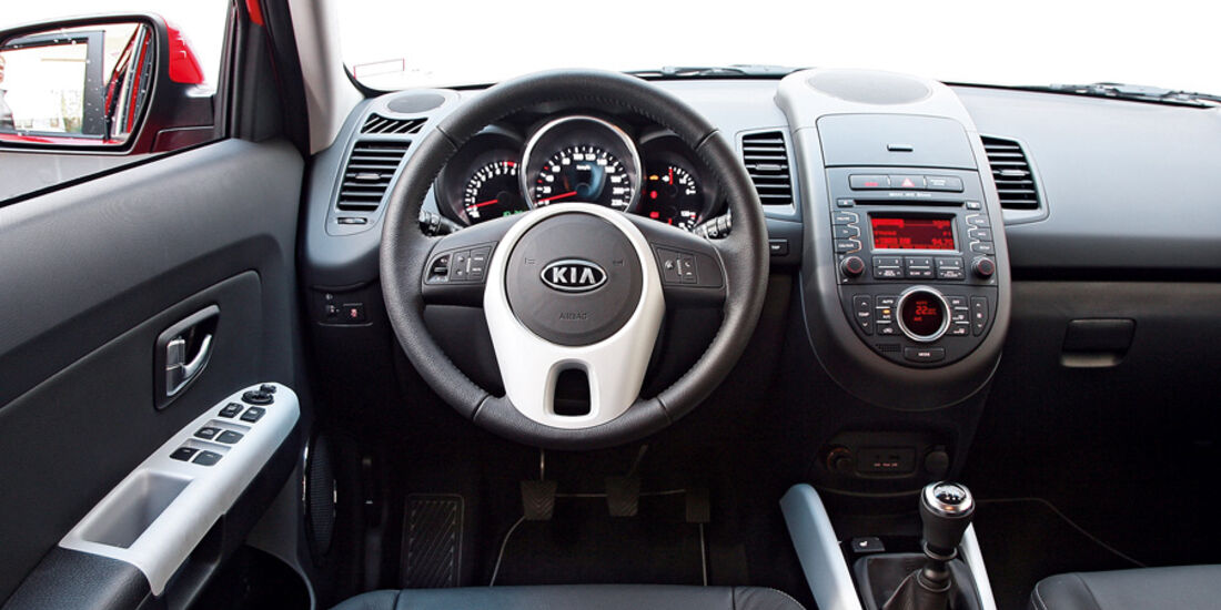 Kia Soul Facelift, Cockpit