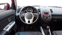 Kia Soul Facelift, Cockpit