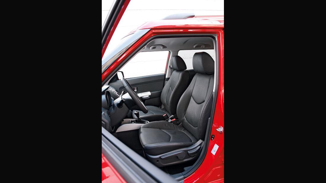 Kia Soul Facelift, Sitze