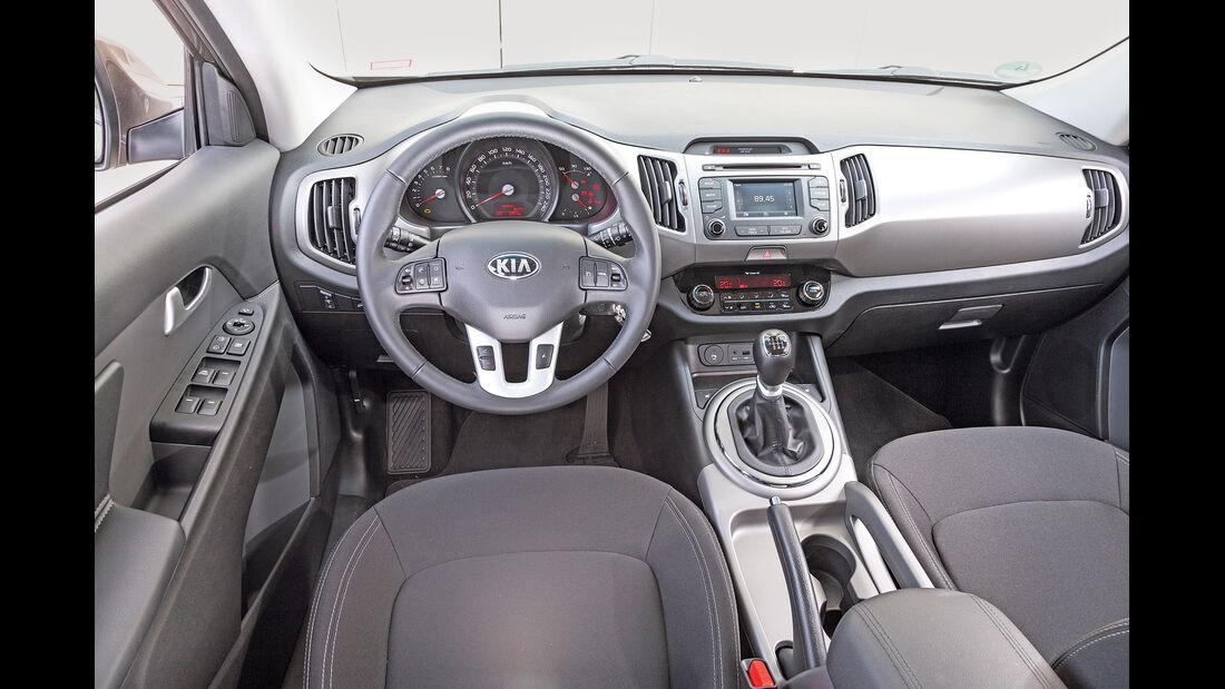 Kia Sportage 1.6 GDI, Cockpit
