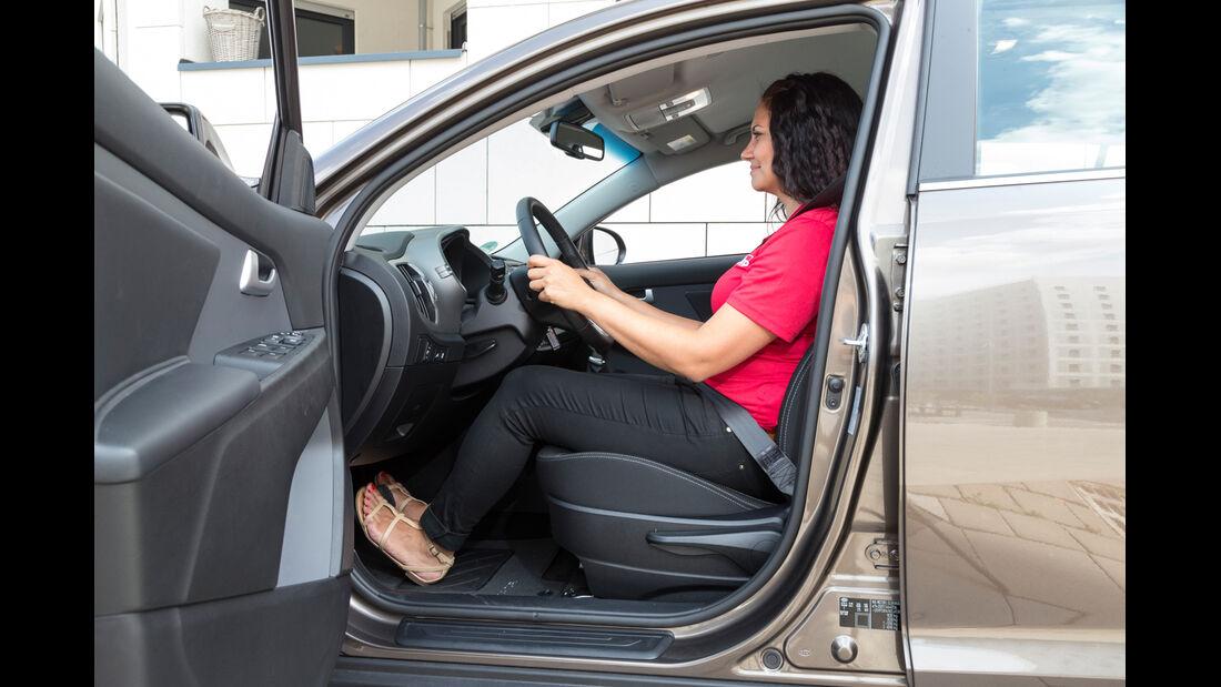 Kia Sportage 1.6 GDI, Fahrersitz