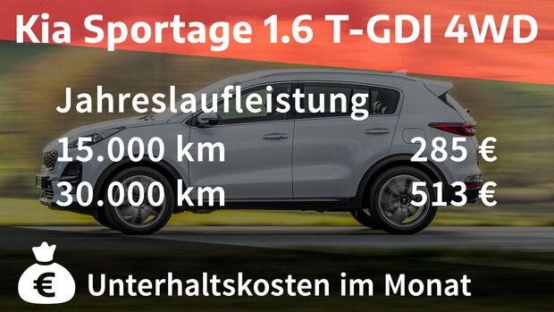 Kia Sportage 1.6 T-GDI 4WD GT Line