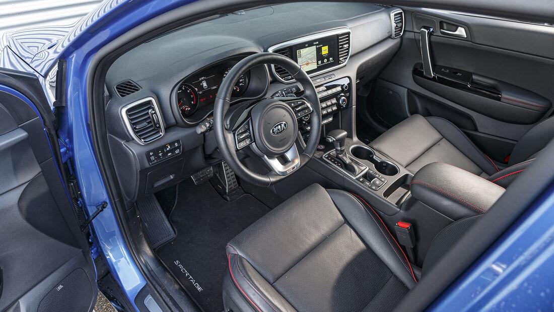 Kia Sportage 1.6 T-GDI 4WD, Interieur