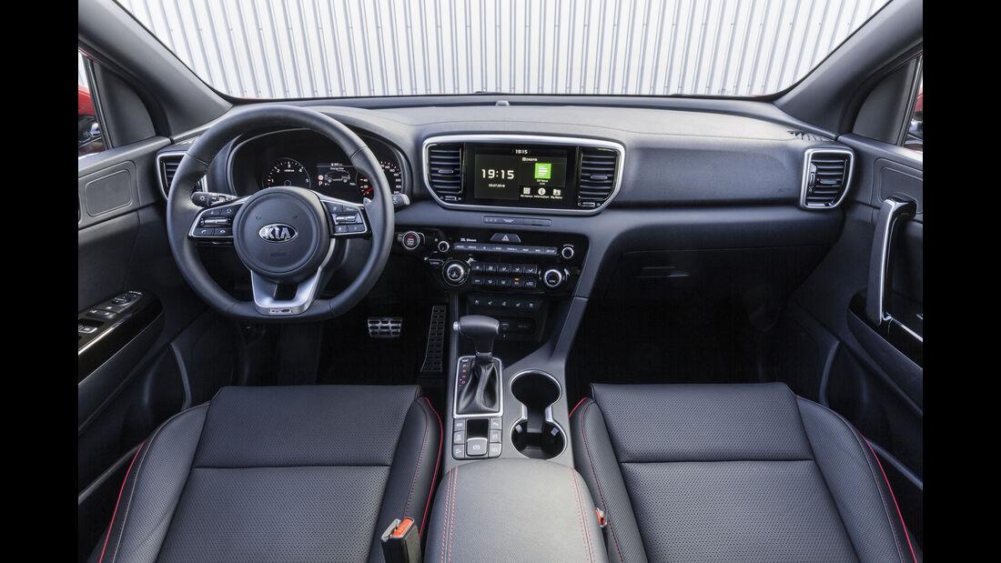 Kia Sportage 185 ps EcoDynamics+ 2.0-litre diesel mild-hybrid