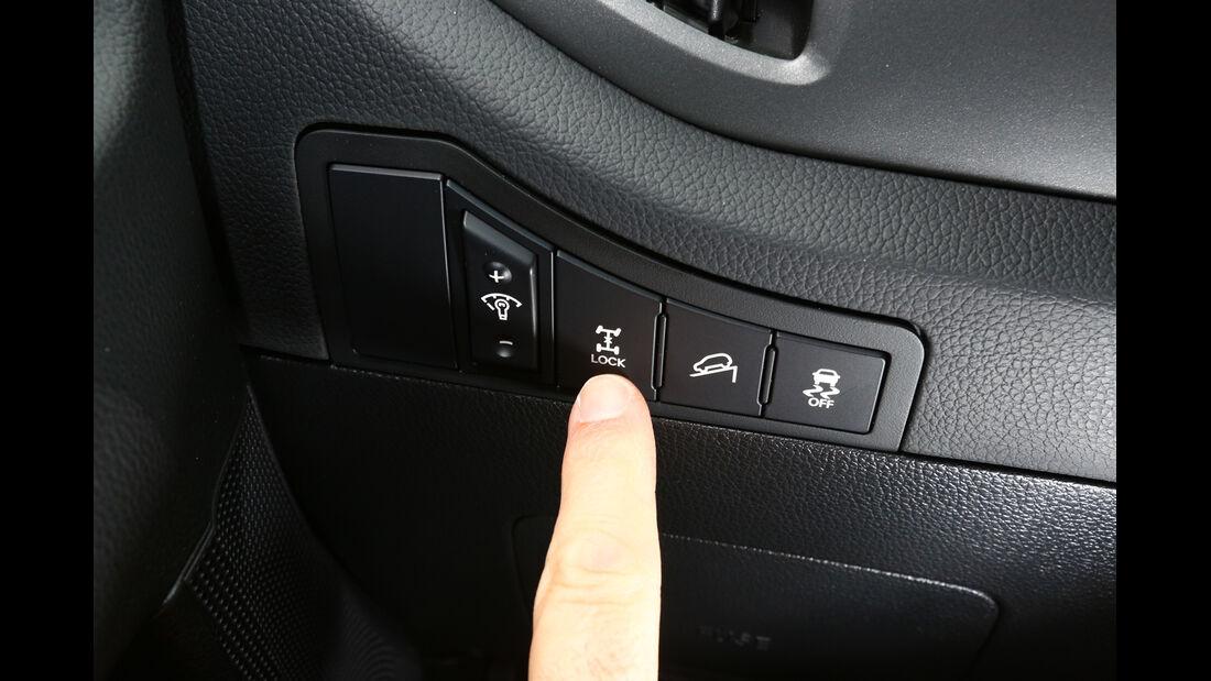 Kia Sportage 2.0 CRDI 4WD, Bedienelemente