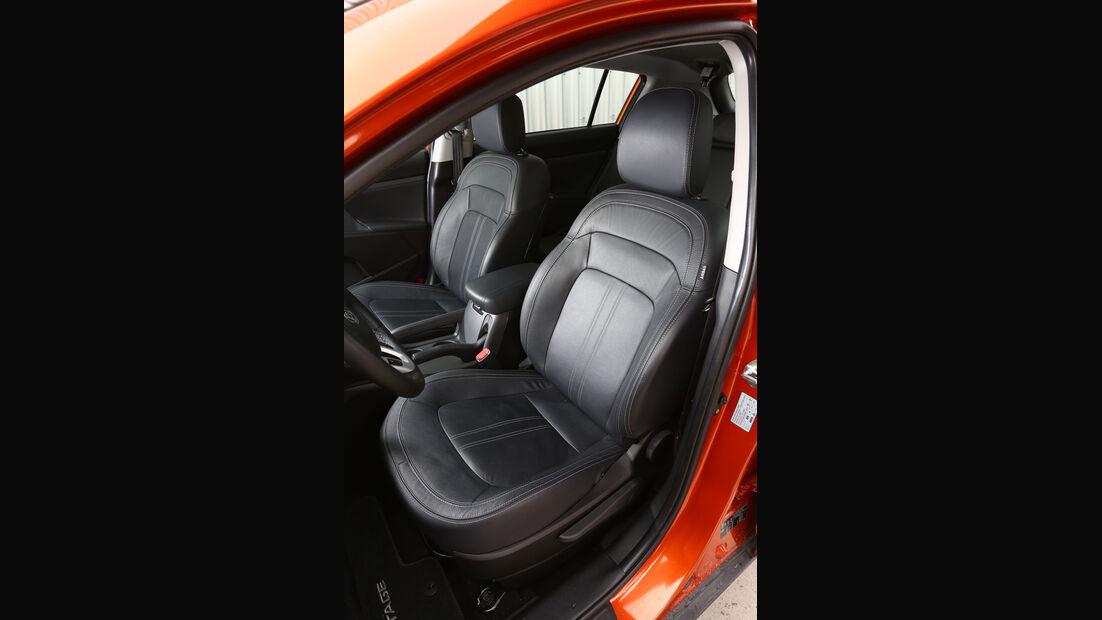 Kia Sportage 2.0 CRDI 4WD, Fahrersitz