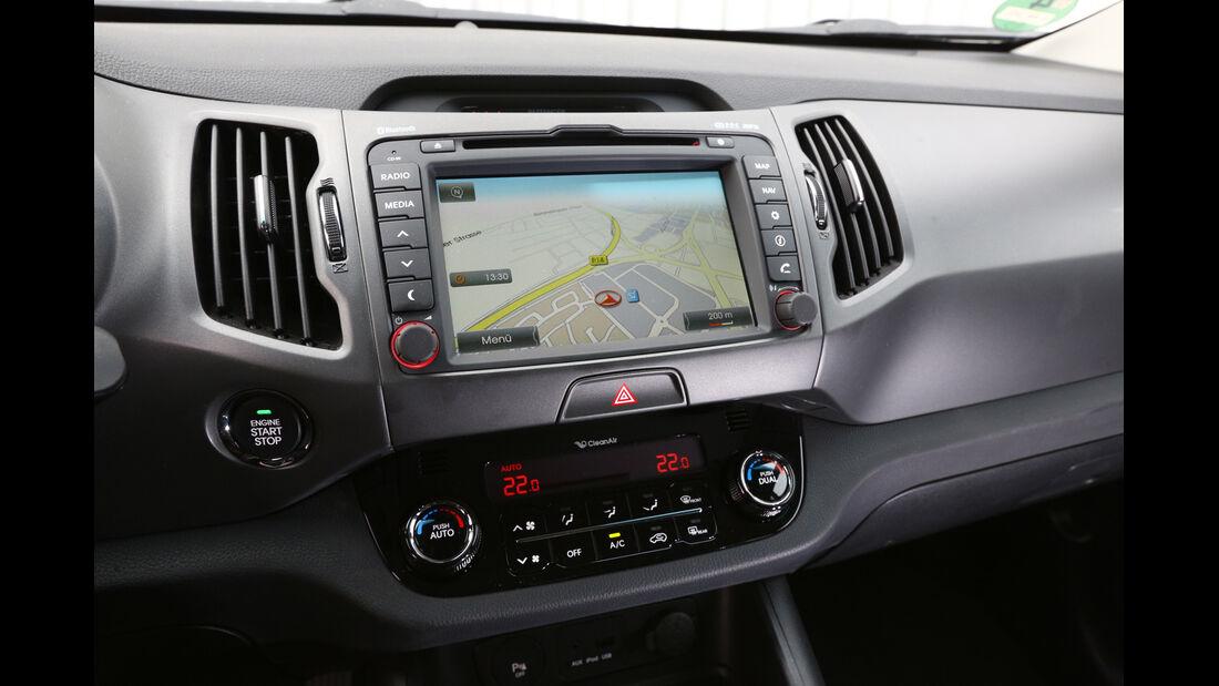 Kia Sportage 2.0 CRDI 4WD, Navi, Display