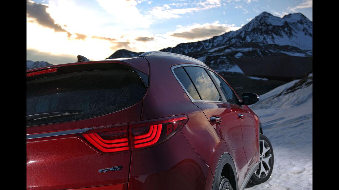 Kia Sportage 2.0 CRDi (2016) - Kompakt-SUV - Zweiliter-Diesel - Fahrbericht