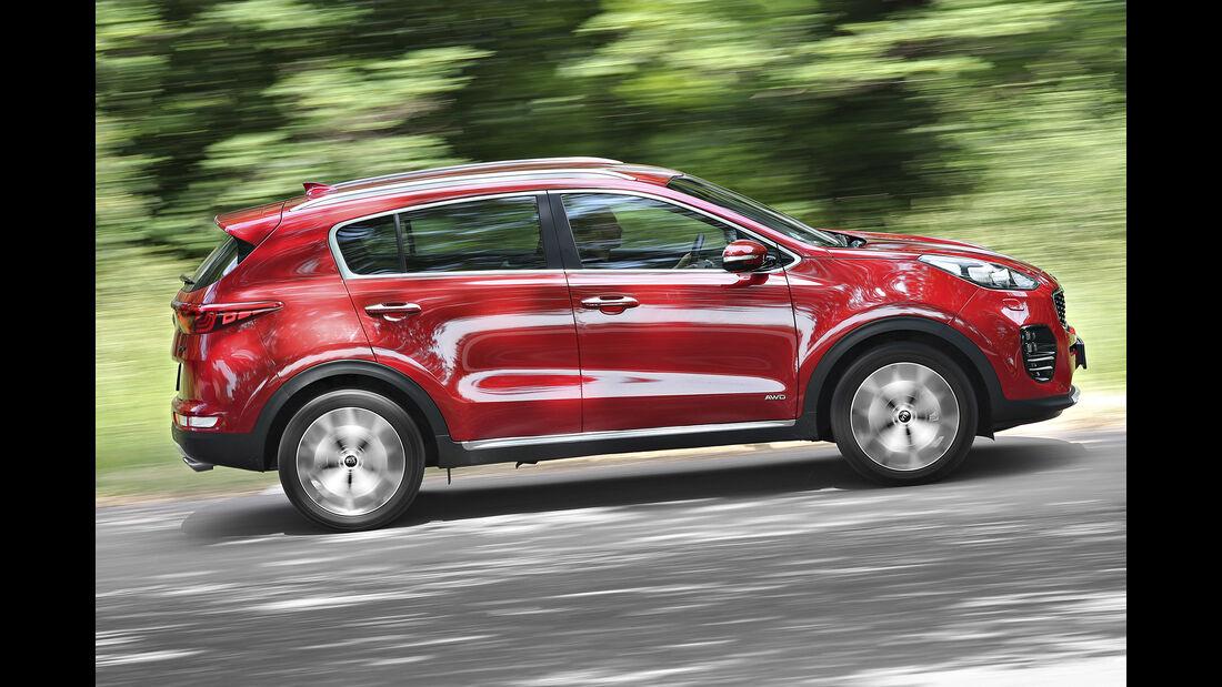 Kia Sportage 2.0 CRDi 4WD, Exterieur