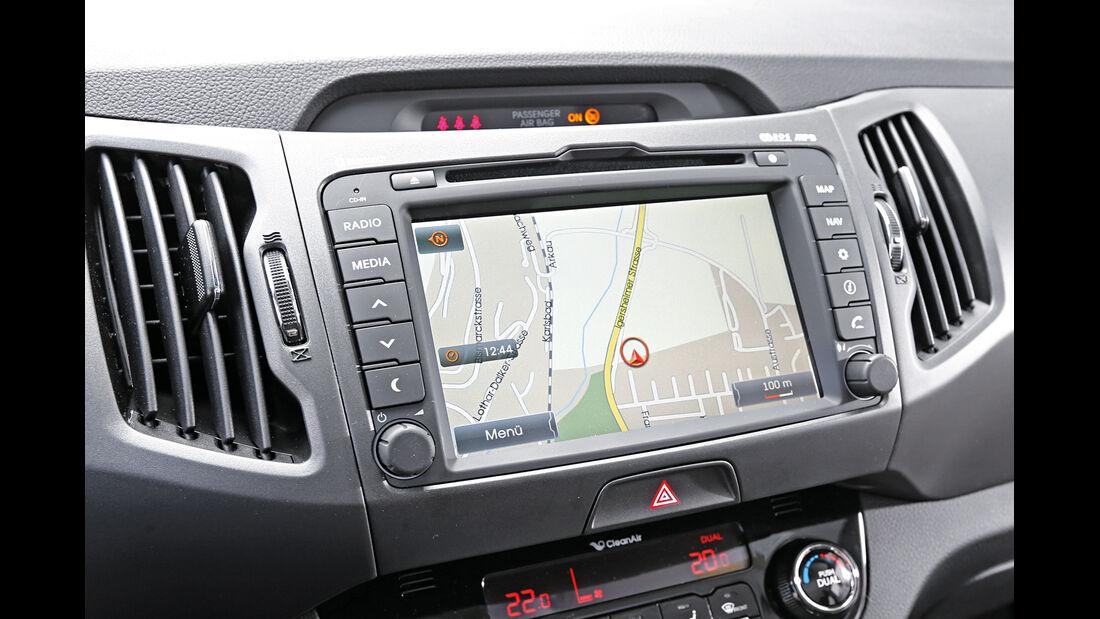 Kia Sportage 2.0 CRDi 4WD Vision, Navi, Bildschirm