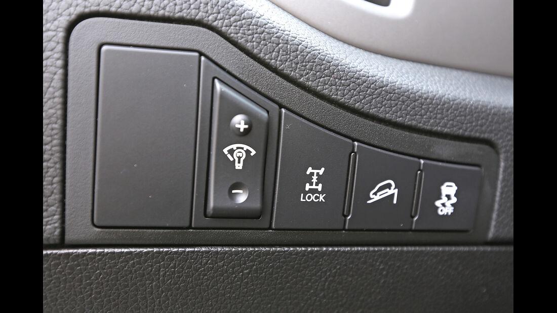 Kia Sportage 2.0 CRDi AWD, Bedienelemente