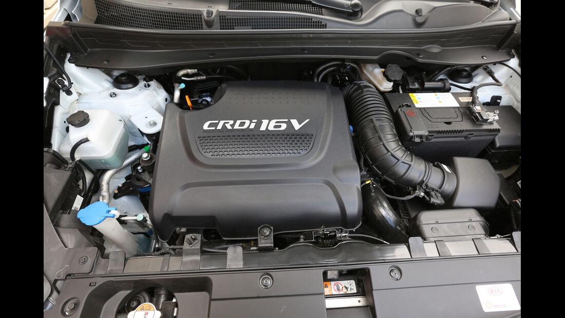 Kia Sportage 2.0 CRDi AWD, Motor