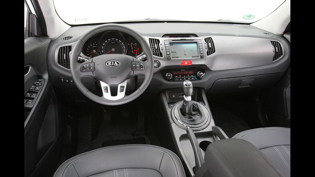 Kia Sportage, Cockpit