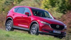 Kia Sportage, Mazda CX-5, Seat Ateca, Vergleichtest, ams052019