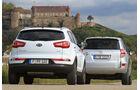 Kia Sportage, Toyota RAV4