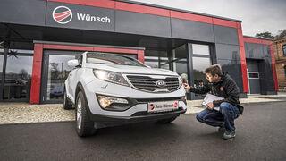 Kia Sportage Typ SL, Gebrauchtwagen-Check, Meister Wünsch, asv0818