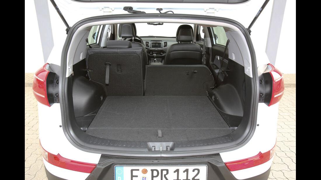 Kia Sportage1.7 CRDi, Kofferraum, Ladefläche