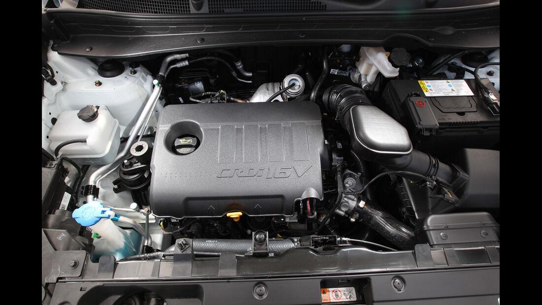 Kia Sportage1.7 CRDi, Motor