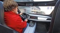 Kia Sportspace, Cockpit, Fahrersicht