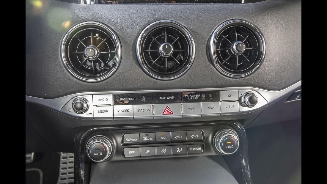 Kia Stinger 2.0 T-GDI, Interieur