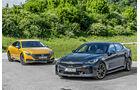 Kia Stinger 2.0 T-GDI, VW Arteon 2.0 TSI 4Motion, Exterieur