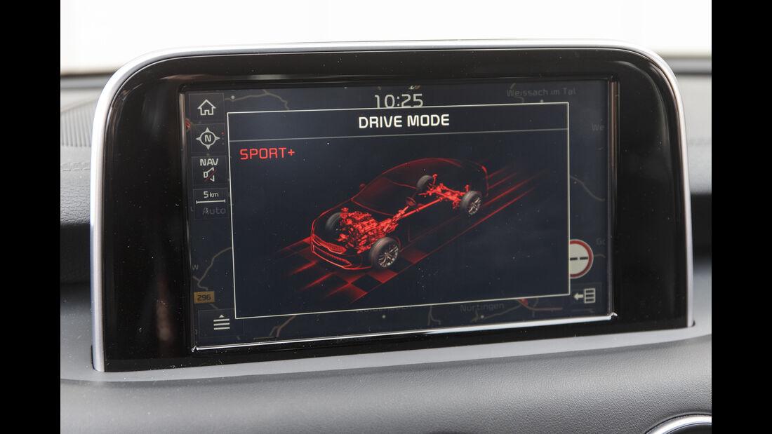 Kia Stinger 3.3 T-GDI GT, Interieur