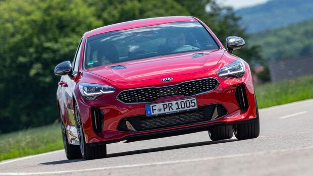 Kia Stinger 3.3 T-GDI V6 GT, Exterieur
