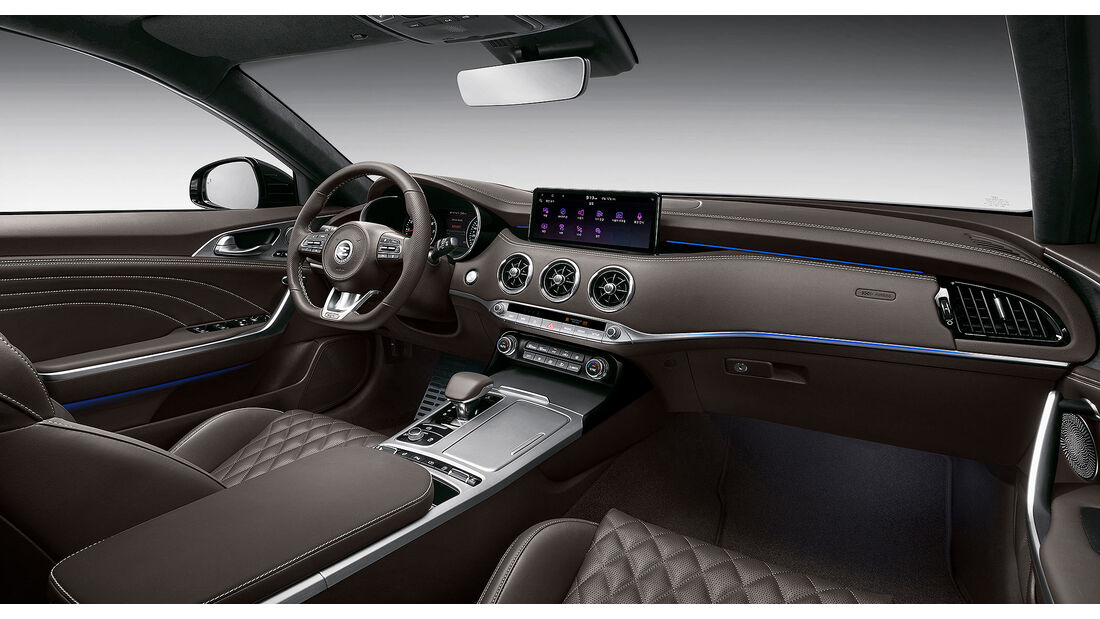 Kia Stinger Facelift 2020