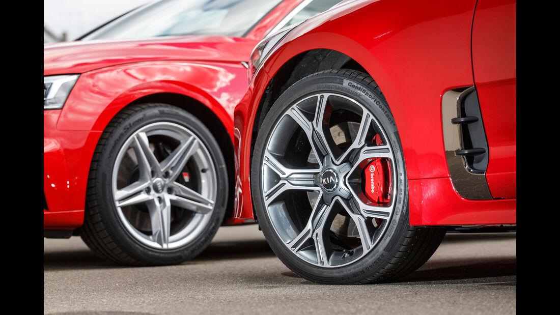 Kia Stinger GT - Audi S5 Sportback - sport auto 10/2018