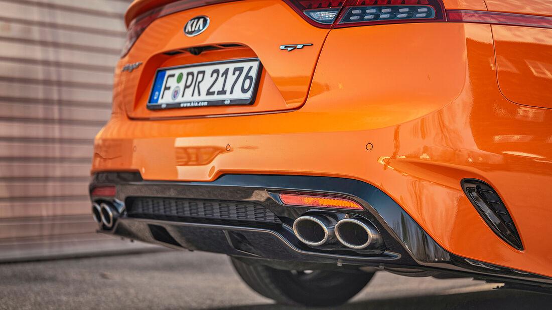Kia Stinger GT, Exterieur