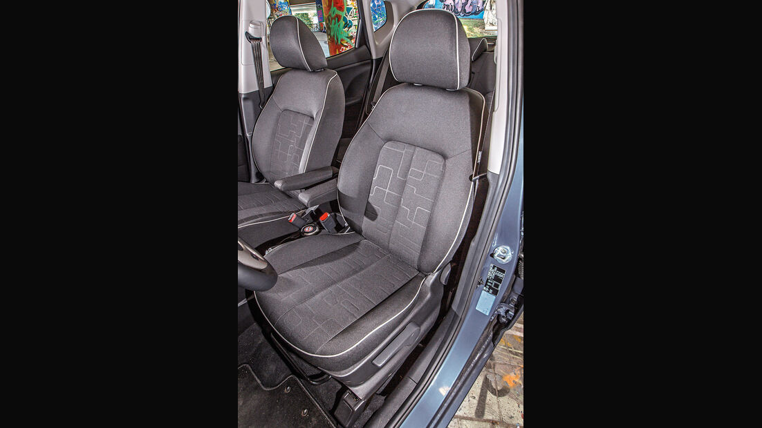 Kia Venga 1.6 CVVT, Fahrersitz