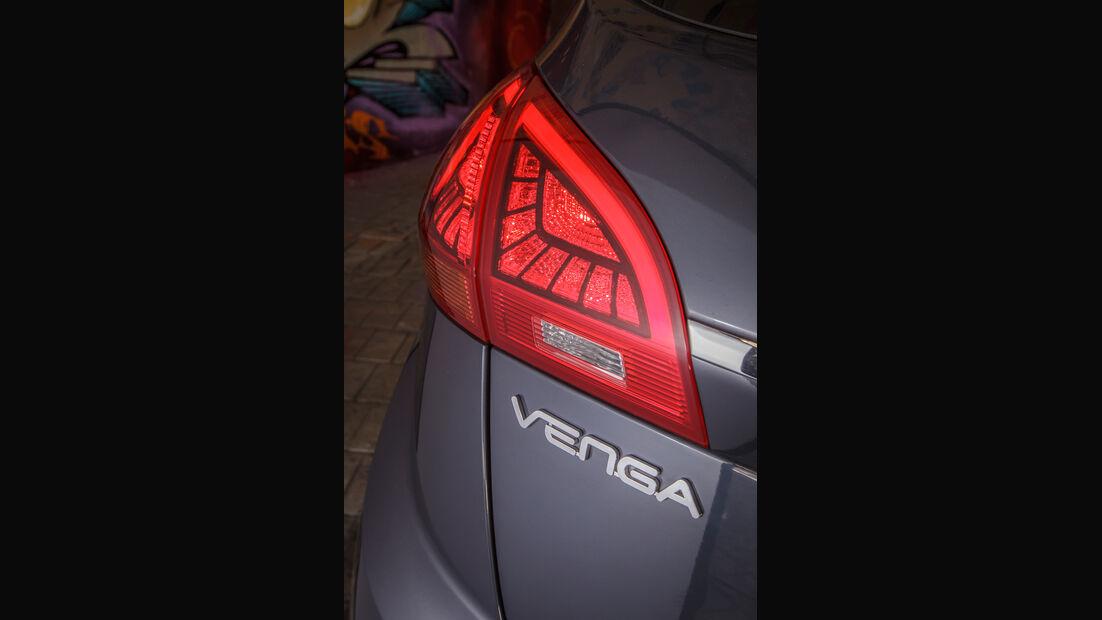 Kia Venga 1.6 CVVT, Heckleuchte, Typenbezeichnung