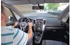 Kia Venga, Innenraum, Cockpit