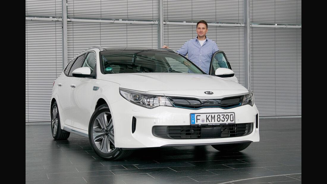 Kia goes Electric, Kia Optima SW Plug-In-Hybrid, Hybrid, Lesertestdrive