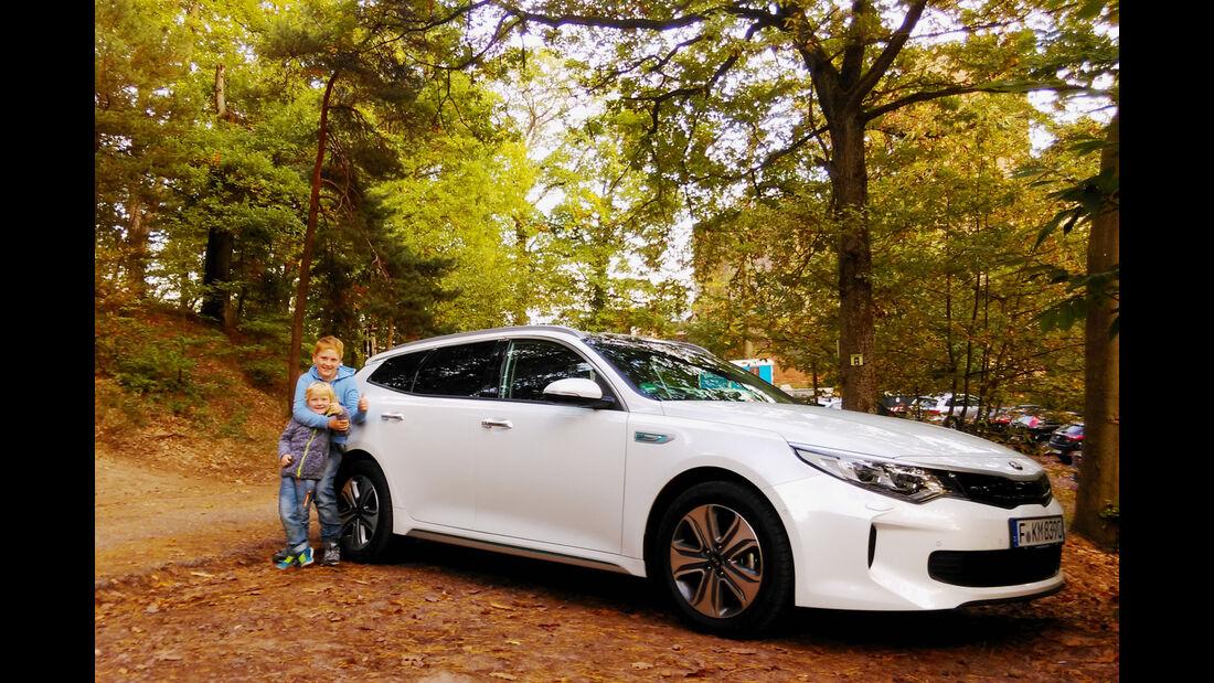 Kia goes Electric, Lesertestdrive, Kia Optima SW Hybrid, PHEV