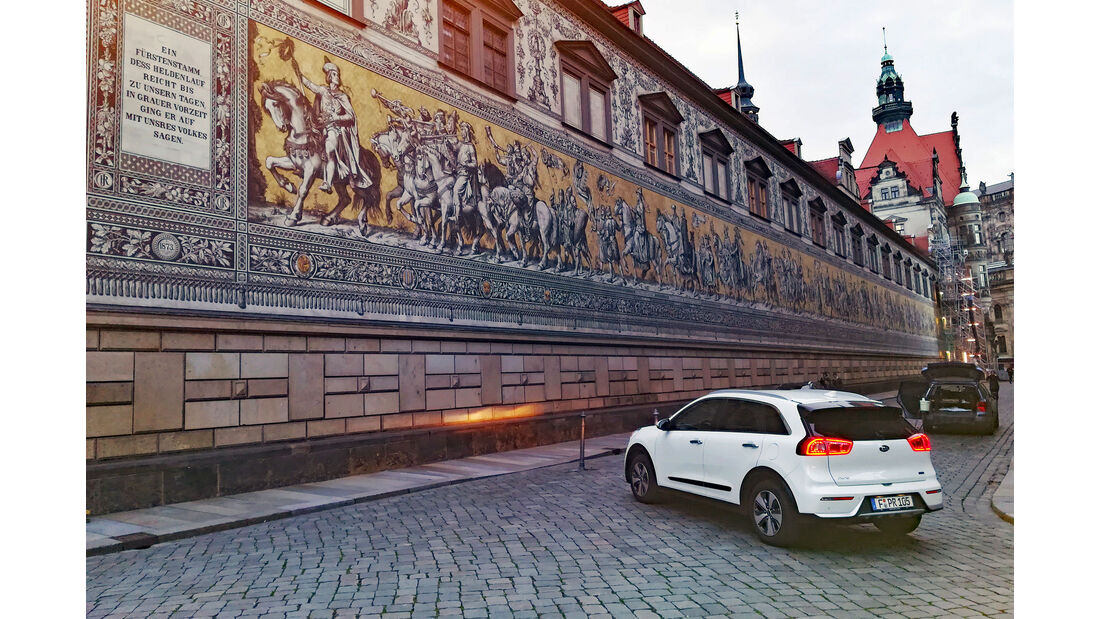 Kia goes electric, Kia Lesertestdrive