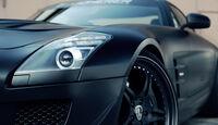 Kicherer Mercedes SLS AMG 6.3 Supercharged GT, Scheinwerfer
