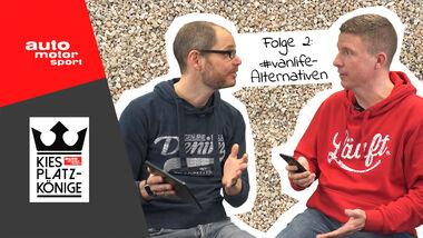 Kiesplatz Könige Aufmacher Folge 2 Vanlife Alternativen