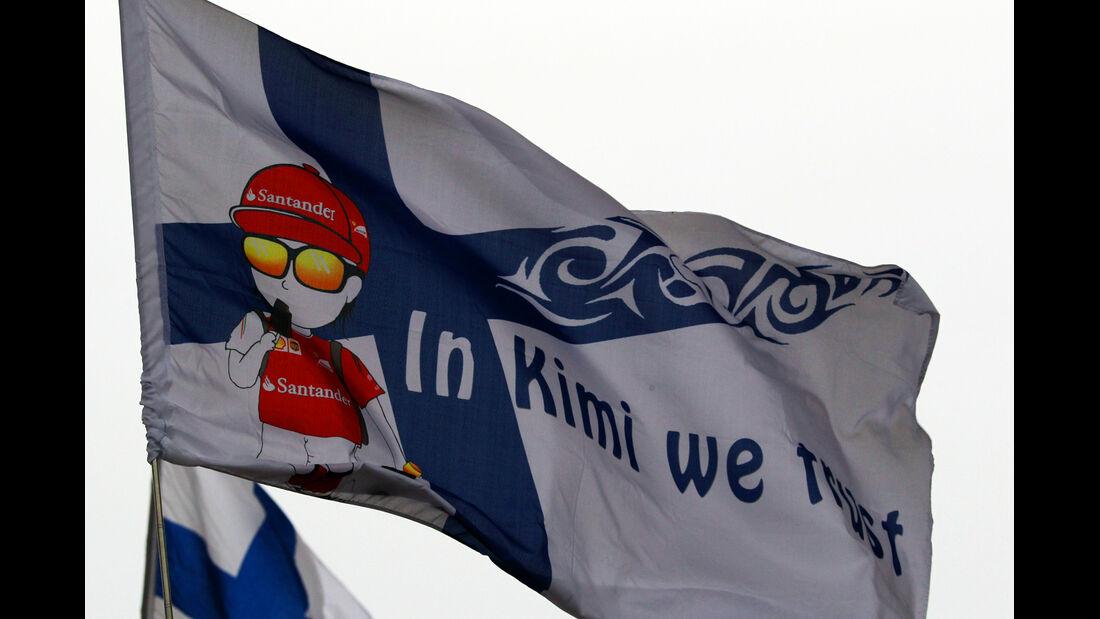 Kimi-Fans - Formel 1 - GP China - Shanghai - 19. April 2014