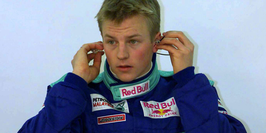 Kimi Räikkönen 2000 Sauber