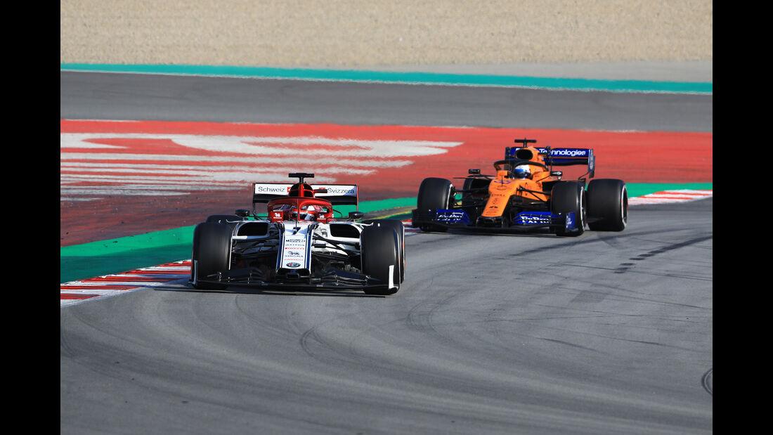 Kimi Räikkönen - Alfa Romeo - Barcelona - F1-Test - 01. März 2019