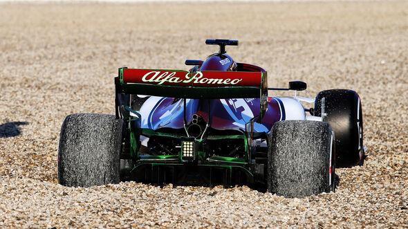 Kimi Räikkönen - Alfa Romeo - Barcelona - F1-Test - 18. Februar 2019