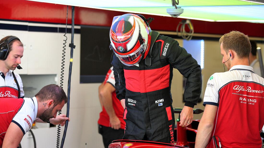Kimi Räikkönen - Alfa Romeo - F1-Test - Abu Dhabi - 3. Dezember 2019