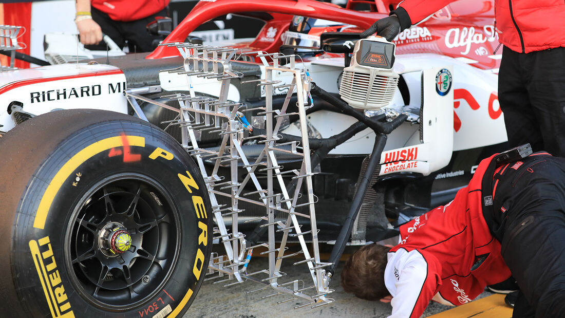 Kimi Räikkönen - Alfa Romeo - F1-Test - Barcelona - 19. Februar 2020